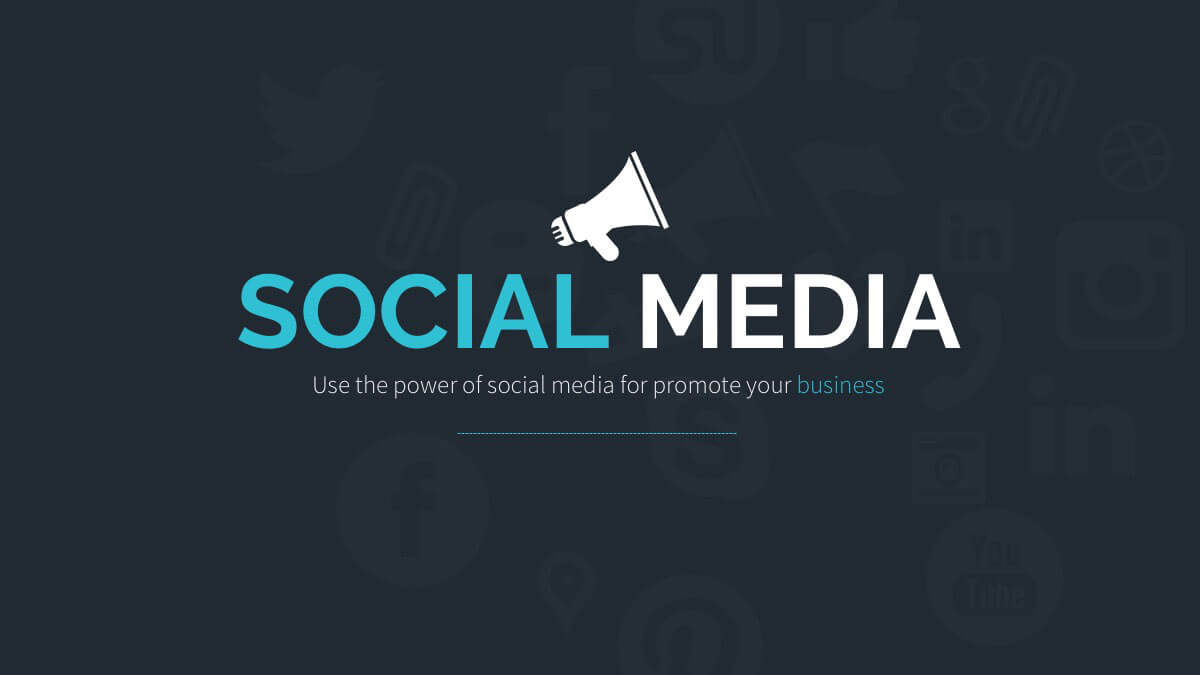 Social Media Free Powerpoint Template – Powerpointify