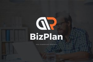biz plan free powerpoint template