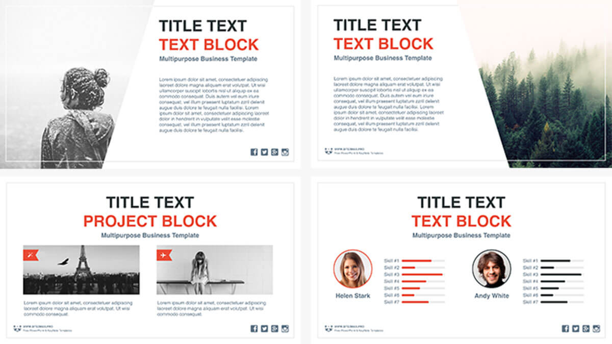 Business idea free powerpoint template presentations on powerpointify business idea free powerpoint template slide 5 toneelgroepblik Choice Image
