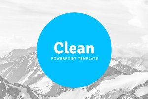 bluemark free powerpoint template