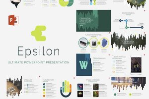 epsilon free powerpoint template