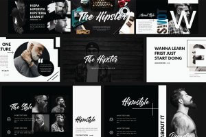 25 minimal powerpoint templates for aesthetic presentations hipster free powerpoint template toneelgroepblik Image collections