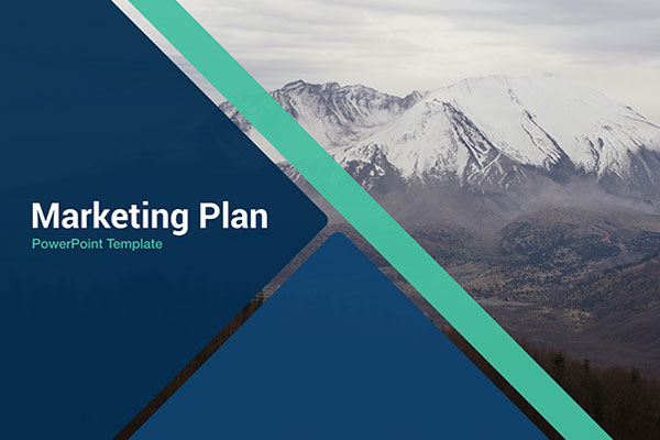 Marketing plan free powerpoint template powerpointify toneelgroepblik