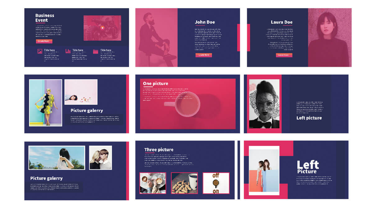 21 powerpoint templates you can download free for Minimalist powerpoint template free 2