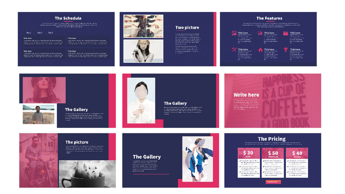 Modern Minimal Free Powerpoint Template Presentations Powerpointify