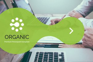 Organic Free Powerpoint template