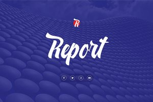 Report Biz Free Powerpoint Template