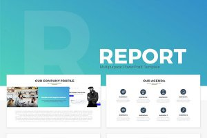report free powerpoint template