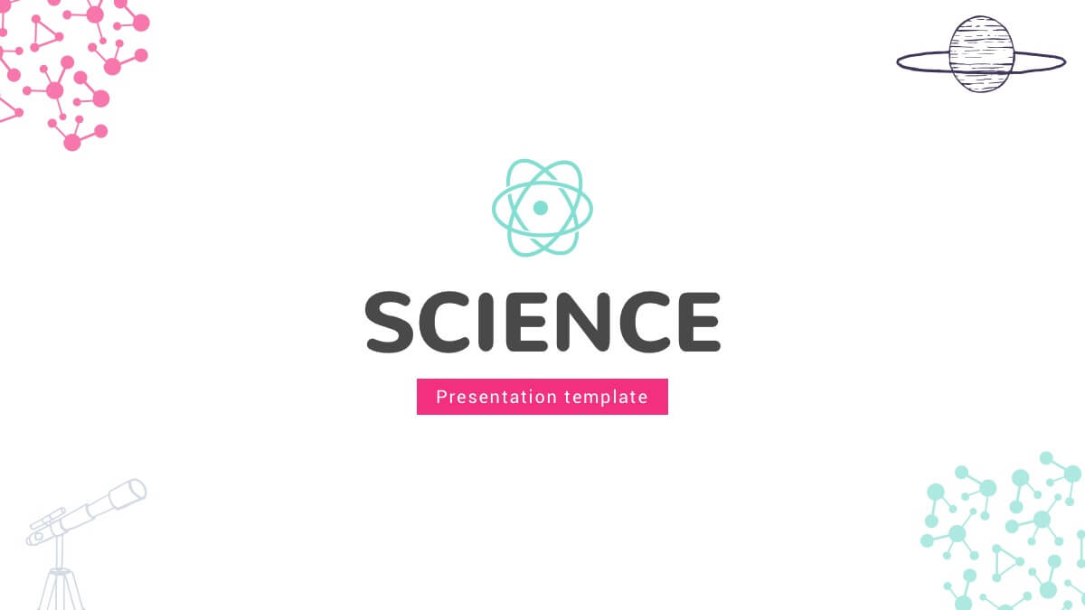 free science powerpoint template