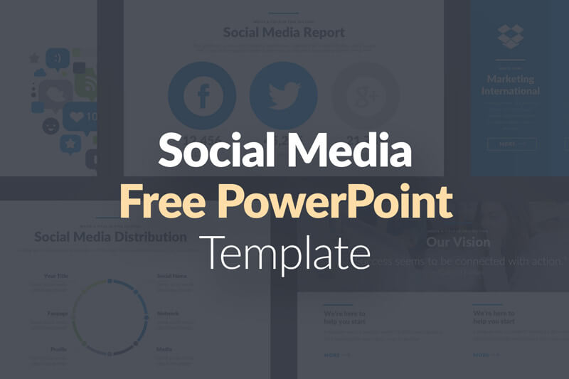 Social Media Pro Free Powerpoint Template Presentations