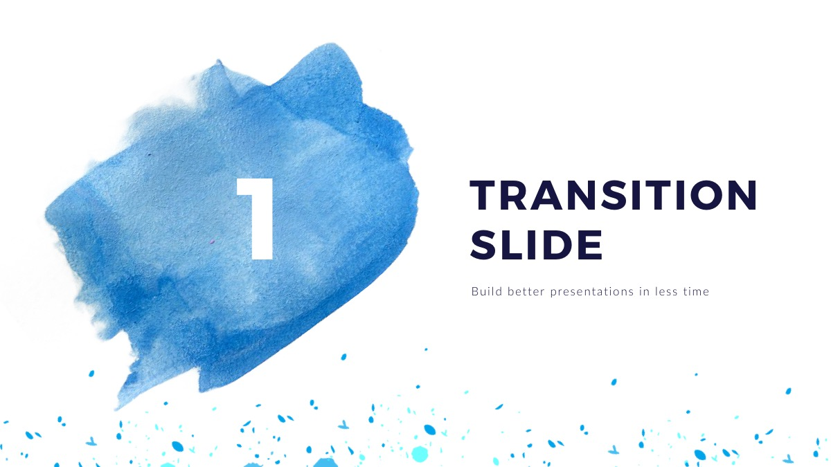 watercolor free powerpoint template presentations on powerpointify