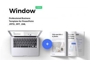 Window Free Powerpoint Template