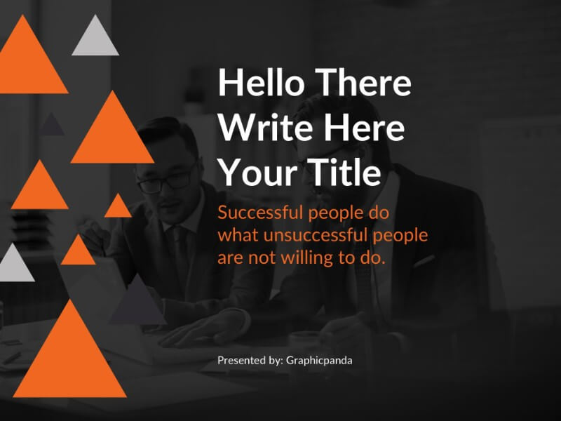 Company Profile Pro Free Powerpoint Template