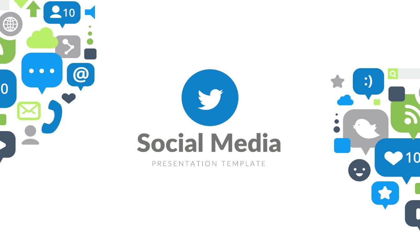 Social media free powerpoint template ppt slides slidesalad.