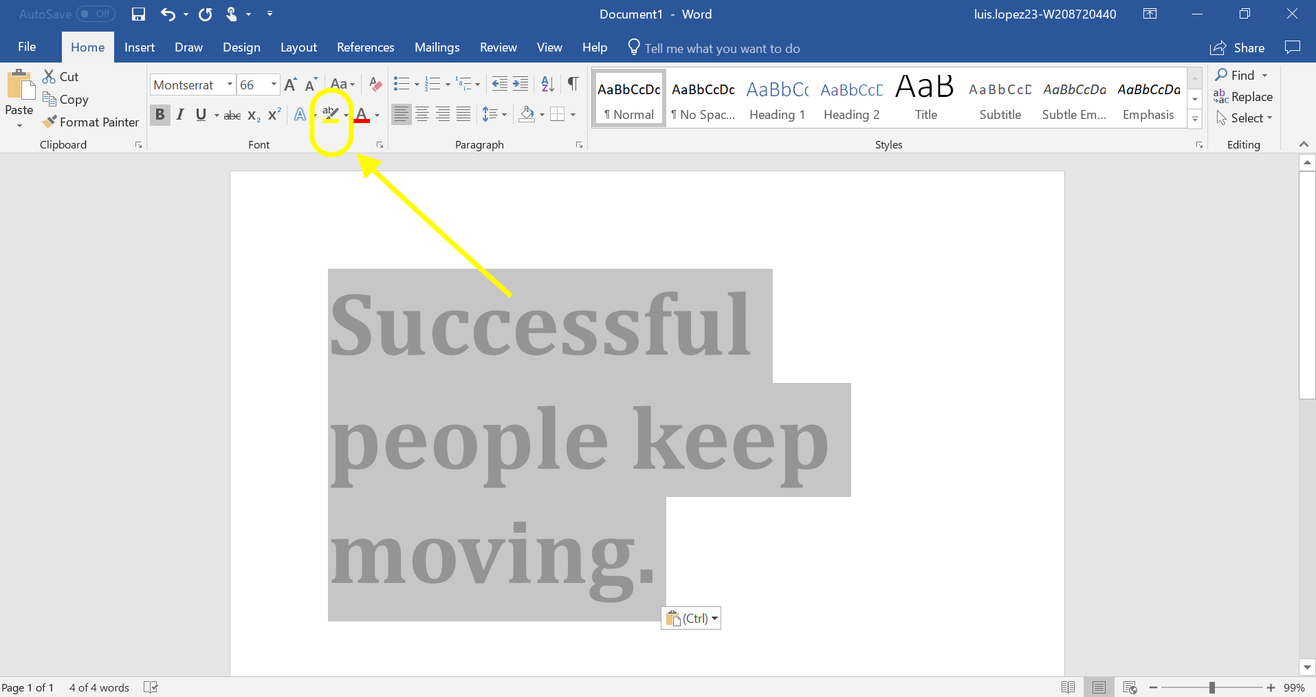 How to Highlight in Powerpoint
