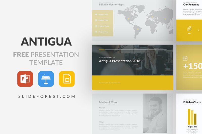 Antigua free powerpoint template powerpointify toneelgroepblik Image collections
