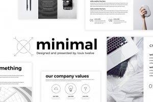 45 Minimal Powerpoint Templates For Aesthetic Presentations