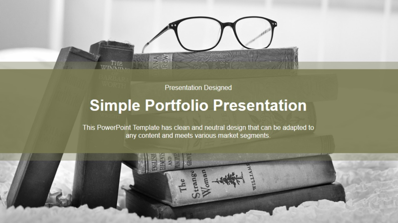 Vintage old book free powerpoint template vintage old book free template slide 7 toneelgroepblik Images