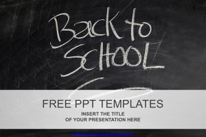 Back to School Free PowerPoint Template