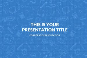 Blue Free Powerpoint Template