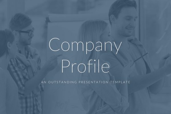 Brand Profile Free Powerpoint Template