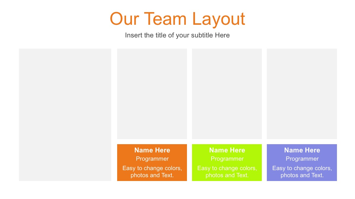 Colored Pencils Free Powerpoint Template