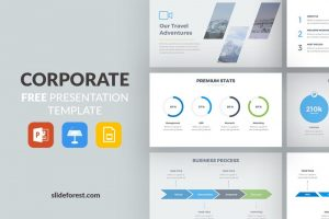 25 free business powerpoint templates for presentations corporate free powerpoint template wajeb Image collections