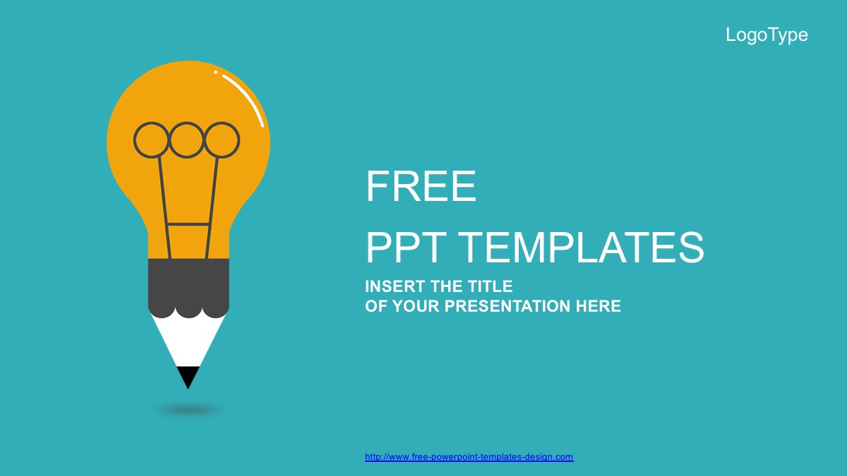 Creative Idea Bulb Free Powerpoint Template