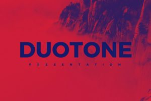 Duotone Free Powerpoint Template