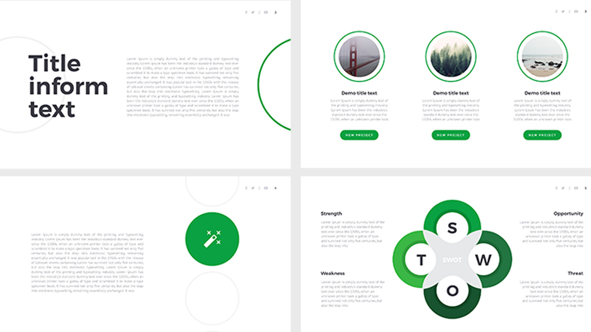 Eco free powerpoint template eco free powerpoint template slide 2 toneelgroepblik Image collections