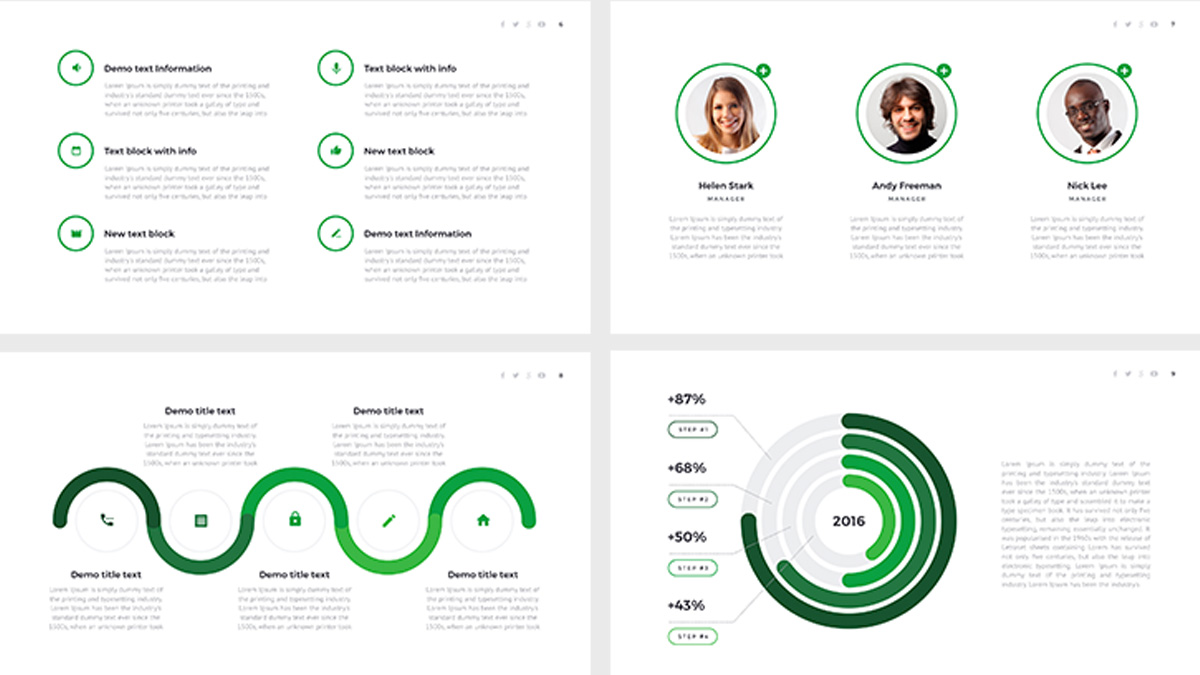 Eco free powerpoint template eco free powerpoint template slide 3 toneelgroepblik Image collections