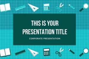 25 free education powerpoint templates for teachers and students school supplies free powerpoint template toneelgroepblik Images