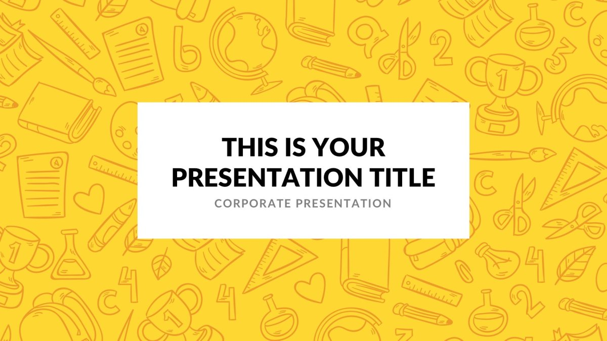 Elementary free powerpoint template elementary free powerpoint template slide 1 toneelgroepblik Gallery