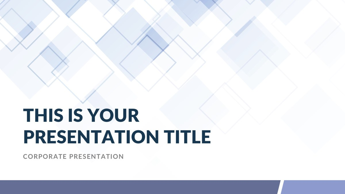 Gamma Free Powerpoint Template