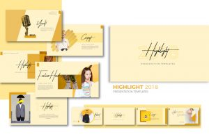 Highlight Free Powerpoint Template