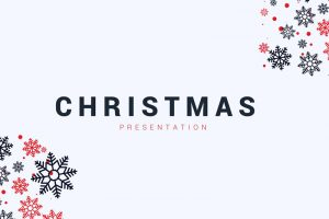 Ice Crystal Free Powerpoint Template