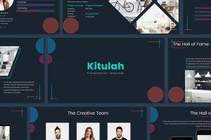 kitulah free powerpoint template - Cool Powerpoint Templates Free