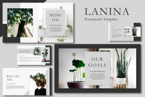 Lalina Free Powerpoint Template
