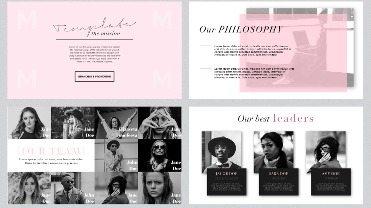 London minimal free powerpoint template london minimal free powerpoint template slide 5 toneelgroepblik Image collections