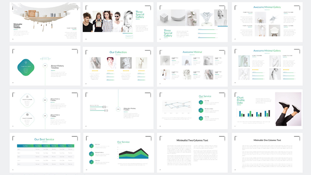 Mines Free Powerpoint Template Simple And Creative Free Presentation