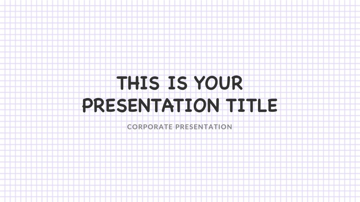 Notepad Free Powerpoint Template