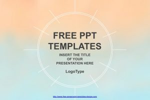 Pastel Watercolor Painted Free PowerPoint Template
