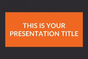 Rocket Free Powerpoint Template