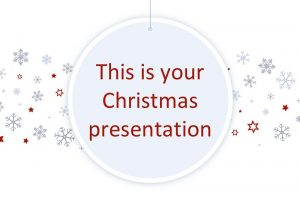 Snowflake Free Powerpoint Template