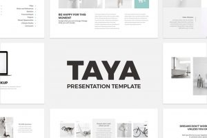 25 free simple powerpoint templates for presentations taya free powerpoint template toneelgroepblik Images