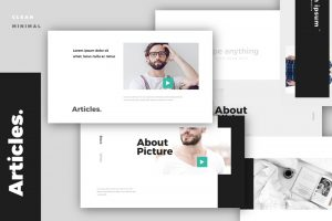 Article Free Powerpoint Template