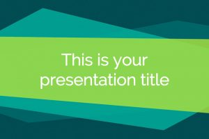25 geometric free powerpoint templates powerpointify