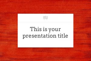 Jourdain Free Powerpoint Template