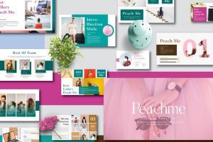 Peachme Creative Free Powerpoint Template