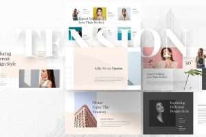 25 minimal powerpoint templates for aesthetic presentations tension free presentation template toneelgroepblik Image collections
